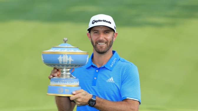 Dustin Johnson withdraws from Houston Open