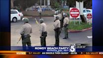 Deputies Respond to Rowdy Beach Party