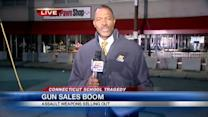 Gun Sales Booming in the Tri State