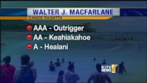 Waikiki beach packed for 71st Annual Walter J. MacFarlane Canoe Regatta