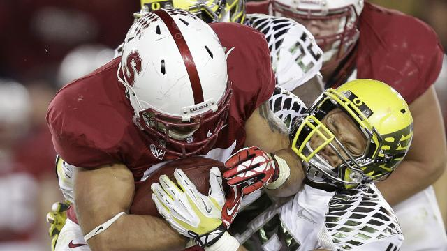 Tyler Gaffney's Record-Breaking Night for Stanford