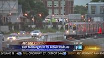 1st weekday rush flies by on CTA's rebuilt Red Line South Branch