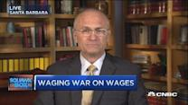 Waging war on wages: CEO