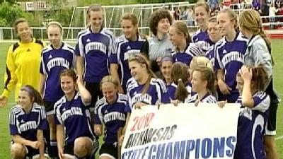 Fayetteville Girls Win 7A Soccer State Title