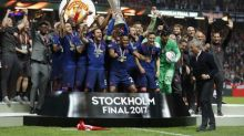 United outclass Ajax to win Europa League on emotional night