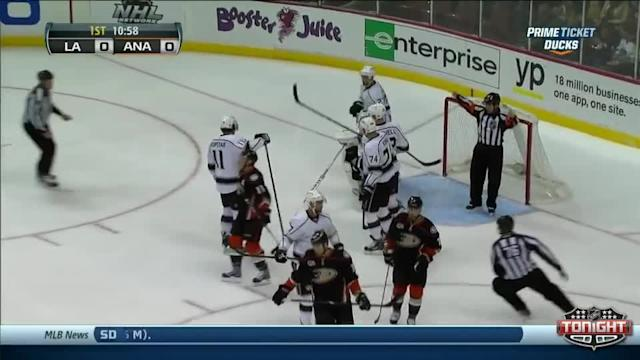 Los Angeles Kings at Anaheim Ducks - 12/03/2013