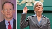 Secretary Sebelius back in hot seat