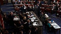 U.S. Senate Returns to Floor to Discuss Shutdown