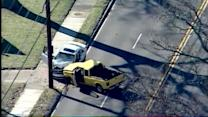 Raw aerials: Fatal crash on Taylorsville Road