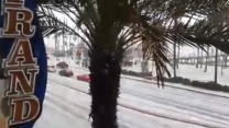 South California Blanketed in Hail