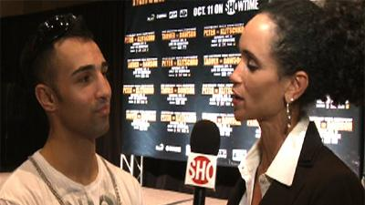 Paulie Malignaggi: Tarver vs. Dawson Interview
